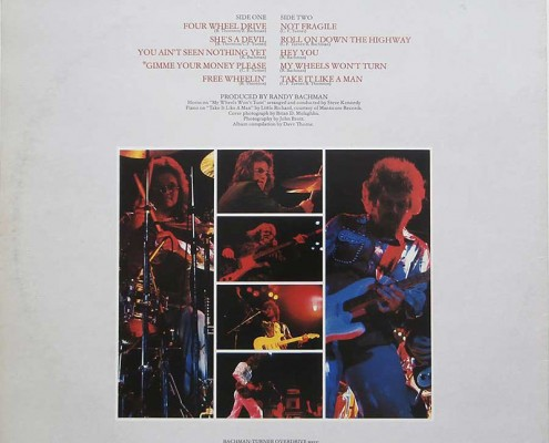 BTO 1983 Album